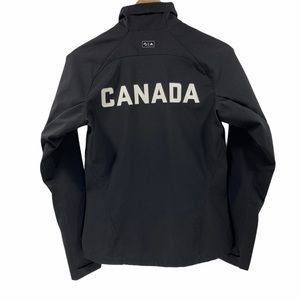 Adidas Canada Full Zip Jacket Coat Top Olympic SM